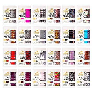 SHANY Cosmetics No Dry Time Mega Collection of Instant Nail Enamel Strips