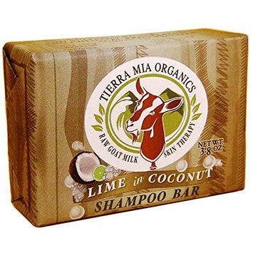 Tierra Mia Organics Raw Goat Milk Skin Therapy Shampoo Bar