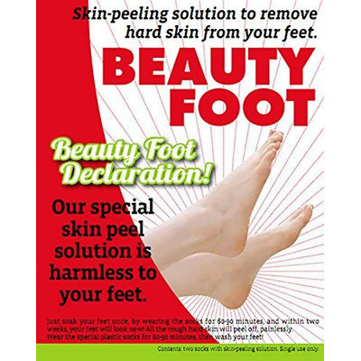 Kuub Cosmetics Inc Beauty Foot Declaration Skin Peeling Solution To Remove Hard Coarse Dead Dry Rough Skin From Feet
