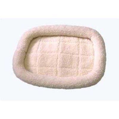 Pet Tek DPK89002 Dream Zone Series 2000 Fleece Dog and Cat Bed, Small, Natural