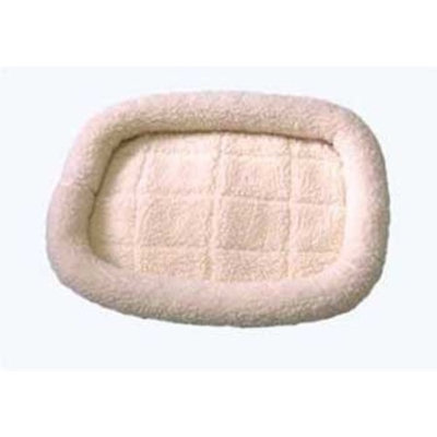 Pet Tek DPK89002 Dream Zone Series 2000 Fleece Dog and Cat Bed, Small, Natural