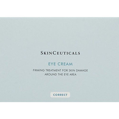 SkinCeuticals EYE CREAM - 1 Box Of 6 / 3.7g Tubes (6 tubes = a little over 3/4 oz.). Firming eye cream to help correct the appearance of dark circles and early signs of aging