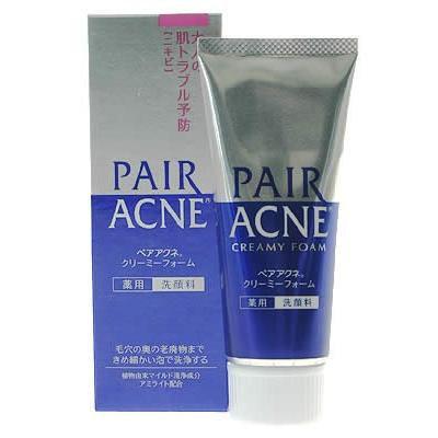 Lion PAIR ACNE Creamy Foam Facial Washing Foam 80g