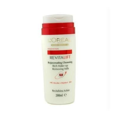 L'Oreal Dermo-Expertise RevitaLift Rejuvenating Cleansing Rich Make Up Removing Milk - 200ml/6.7oz