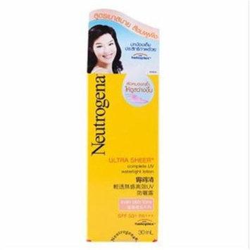 Neutrogena® Ultra Sheer Uv Waterlight Lotion Spf50