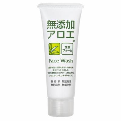ROSETTE , Facial Washing Foam , Additive Free Aloe 140g (Japanese Import)
