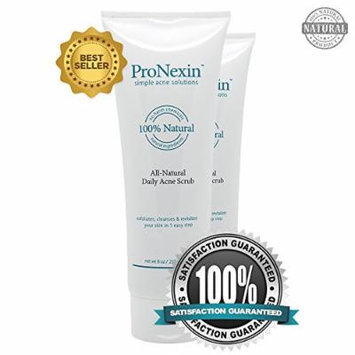 Pronexin (2 Pack) - Acne Face Wash - Gentle All Natural Daily Scrub Face Wash - Exfoliate and Clean