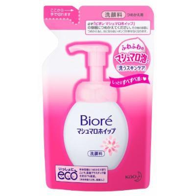 Biore Marshmallow Whip Facial Washing Foam - Refill 130ml