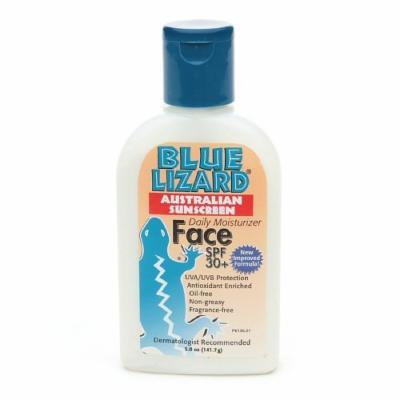 Blue Lizard Australian Sunscreen Lotion, SPF 30+, Face 5 fl oz (141.7 ml)