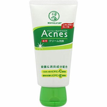 Rohto Acnes Facial Washing Cream 130g