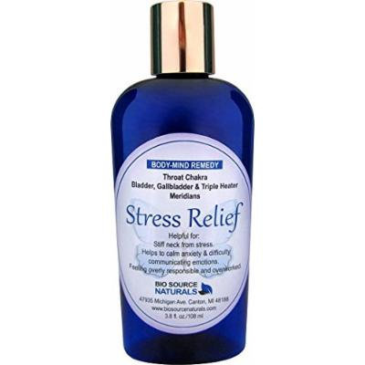 Stress Relief Body Mind Vibrational Remedy Lotion 3.8 oz. Feeling Overwhelmed made with Bach Flower Essences, Pure Essential Oils Essences, Gem Elixirs