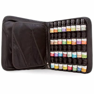 Top 32 Essential Oil Set in Zippered Portfolio Case- 16 Top Singles and 16 Top Synergies