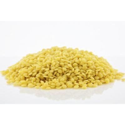 Beeswax Pearls- Yellow. All Natural. 1 pound