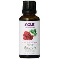 NOW Foods, Rose Absolute, 5% oil blend, 1 Ounce (Pack of 2)