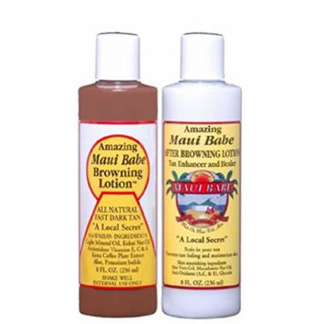 Value Pack Maui Babe 2 Bottles After Browning Lotion & 2 Bottles Browning Lotion 8 oz. each
