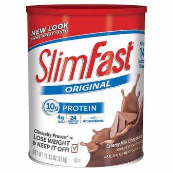 Slim-Fast Protein Shake Mix, Creamy Milk Chocolate 12.83 oz