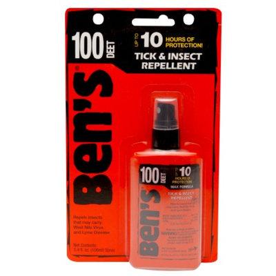 Ben's 100% Deet Carded Pump, 3.4 oz