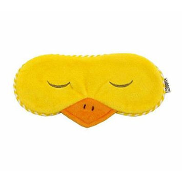 Eye Mask Shades Blindfold Sleeping Warm Cold Gel Pack Travel Comfortable Night's Bestever (Duck-Yellow)