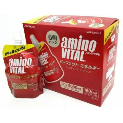 6 Bottles Amino Vital Perfect Energy 130g By Vital