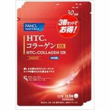 FANCL HTC collagen DX 180 drops × 3