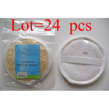 Loofah / Terry Facial Face Complexion Buff Exfoliating Pad (Multi pack) (Free Shipping) (24 pack)