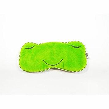 Eye Mask Shades Blindfold Sleeping Warm Cold Gel Pack Travel Comfortable Night's Bestever (Frog-Green)