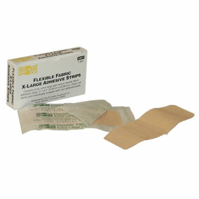 PAC-KIT 1-007G Bandage, Beige, Fabric, Box,4 In L,PK6