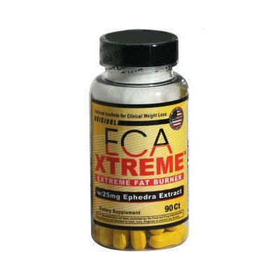 Clinical Weight Loss ECA eXtreme with 25 mg Ephedra Extract 90 Tablets