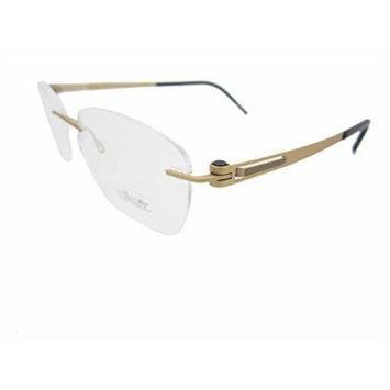 Silhouette Eyeglasses Titanium Lite Twist 4412 6064 Honey Gold Bronze 4412-6064