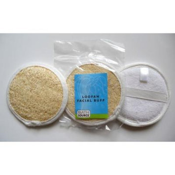 Loofah / Terry Facial Face Complexion Buff Exfoliating Pad (Multi pack) (Free Shipping) (3 pack)