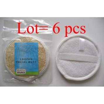 Loofah / Terry Facial Face Complexion Buff Exfoliating Pad (Multi pack) (Free Shipping) (6 pack)