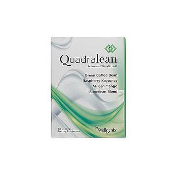 QuadraLean Advanced Weight Loss, 60 Capsules