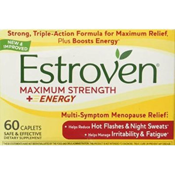 Estroven - Menopause Relief Maximum Strength - 60 Capsules (Pack of 2)