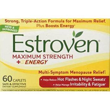 Estroven - Menopause Relief Maximum Strength - 60 Capsules (Pack of 2)