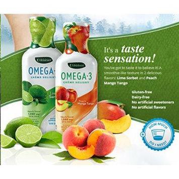 Melaleuca Omega 3 Crème Delight Peach Mango Tango 12oz Bottle