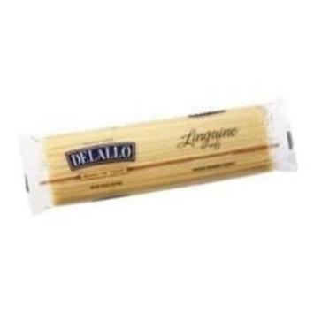 Delallo Number 6 Linguine Pasta, 1 Pound -- 16 per case.