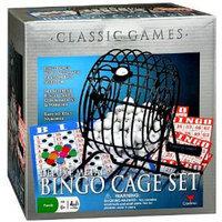 Cardinal Classic Games Deluxe Metal Bingo Cage Set