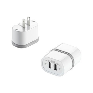 Conair Corporation LS2AD DUAL WALL USB CHARGER