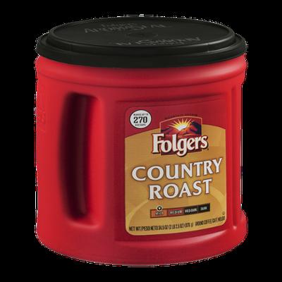 Folgers Country Roast Mild Ground Coffee