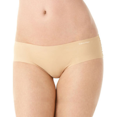 Calvin Klein Invisibles Hipster-DARK BEIGE-Small