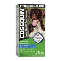 Cosequin® Standard Strength Plus Bosweila & Hyaluronic Acid Professional Line- 75 Chewable Tabs (Pack of 3)