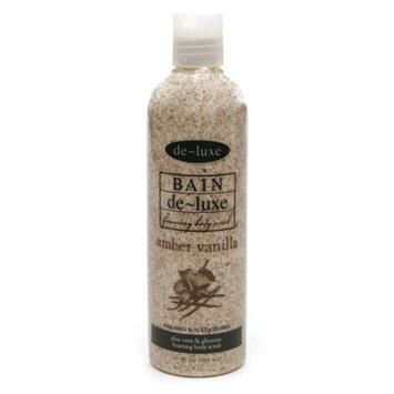 de-luxe BAIN Foaming Body Scrub Amber Vanilla