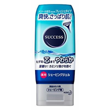 Kao SUCCESS Medicated Shaving Gel Fresh Type - 180g