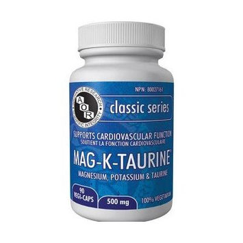 Mag K Taurine (100 Tablets) (Magnesium Potassium Taurine) AOR04246 Brand: A.O.R Advanced Orthomolecular Research