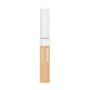 IDA Laboratories CANMAKE , Concealer , Cover & Stretch Concealer UV 03 Ocher Beige SPF25 PA++, Waterproof