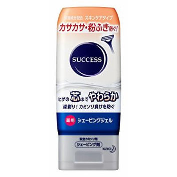 Kao SUCCESS Medicated Shaving Gel Skin-care Type - 180g