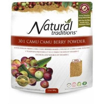 Camu Camu Powder 100g -Raw Food Diet- Brand: Organic Traditions