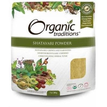Shatavari Powder 200g -Raw Food Diet- Brand: Organic Traditions