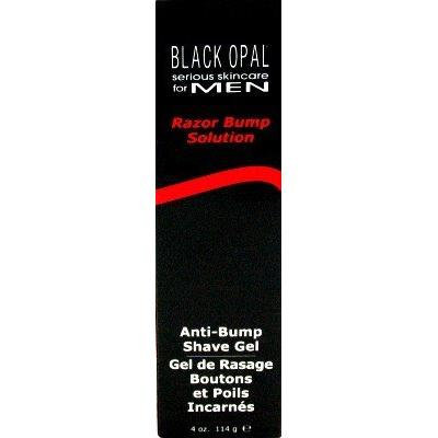 Black Opal Mens Clear Shave Gel 5.5 oz. (3-Pack) with Free Nail File