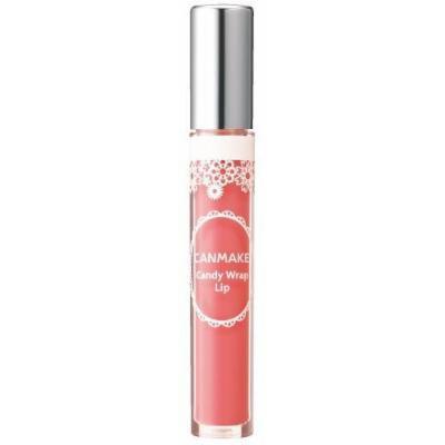 IDA Laboratories CANMAKE , Lip Gloss , Candy Wrap Lip 03 Peach Shower